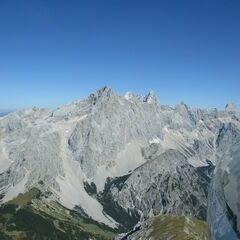 Flugwegposition um 11:50:59: Aufgenommen in der Nähe von Gemeinde Filzmoos, 5532, Österreich in 2480 Meter