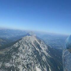 Flugwegposition um 12:03:01: Aufgenommen in der Nähe von Gemeinde Gröbming, 8962, Österreich in 2218 Meter
