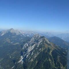 Flugwegposition um 12:25:32: Aufgenommen in der Nähe von Gemeinde Spital am Pyhrn, 4582, Österreich in 1960 Meter