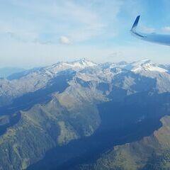 Flugwegposition um 15:42:17: Aufgenommen in der Nähe von Gemeinde Großarl, 5611, Österreich in 3110 Meter