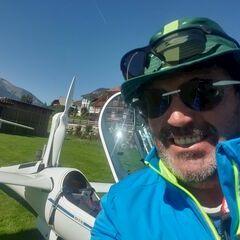 Flugwegposition um 11:50:15: Aufgenommen in der Nähe von Gemeinde Mauterndorf, 5570 Mauterndorf, Österreich in 1036 Meter