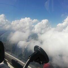 Flugwegposition um 11:34:16: Aufgenommen in der Nähe von Mittersill, Österreich in 2680 Meter