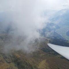 Flugwegposition um 12:40:57: Aufgenommen in der Nähe von Stummerberg, 6276 Stummerberg, Österreich in 2683 Meter