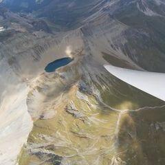 Flugwegposition um 13:09:29: Aufgenommen in der Nähe von Gemeinde Tux, Österreich in 3125 Meter
