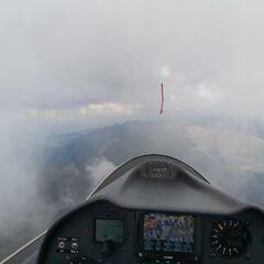 Flugwegposition um 14:33:48: Aufgenommen in der Nähe von Gemeinde Gerlos, 6281 Gerlos, Österreich in 2808 Meter