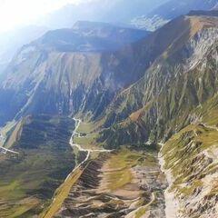 Flugwegposition um 13:07:42: Aufgenommen in der Nähe von Gemeinde Tux, Österreich in 2917 Meter