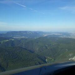 Verortung via Georeferenzierung der Kamera: Aufgenommen in der Nähe von Gemeinde Ternitz, Österreich in 1400 Meter