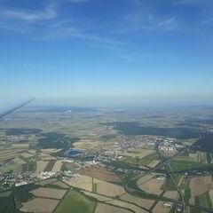 Verortung via Georeferenzierung der Kamera: Aufgenommen in der Nähe von Wiener Neustadt, Österreich in 1300 Meter