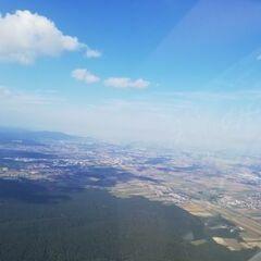 Flugwegposition um 13:58:17: Aufgenommen in der Nähe von Gemeinde Wöllersdorf-Steinabrückl, Österreich in 1178 Meter