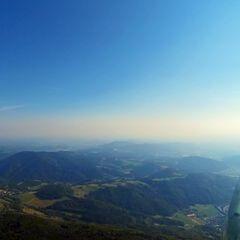 Flugwegposition um 14:02:42: Aufgenommen in der Nähe von Gemeinde Semriach, Österreich in 1625 Meter