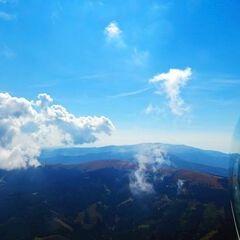 Flugwegposition um 11:31:50: Aufgenommen in der Nähe von Osterwitz, 8530 Osterwitz, Österreich in 2059 Meter