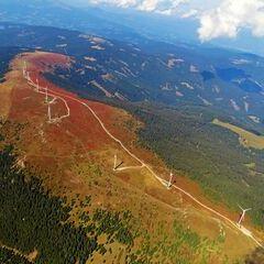 Flugwegposition um 11:45:20: Aufgenommen in der Nähe von Gressenberg, Österreich in 2315 Meter