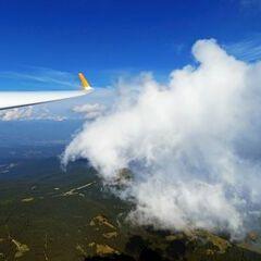 Flugwegposition um 11:41:53: Aufgenommen in der Nähe von Osterwitz, 8530 Osterwitz, Österreich in 2345 Meter