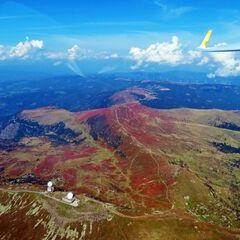 Flugwegposition um 12:17:05: Aufgenommen in der Nähe von Gemeinde St. Georgen im Lavanttal, St. Georgen im Lavanttal, Österreich in 2548 Meter