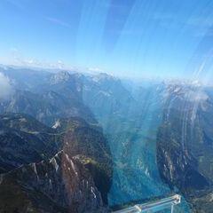 Flugwegposition um 09:58:37: Aufgenommen in der Nähe von Landl, Österreich in 2186 Meter