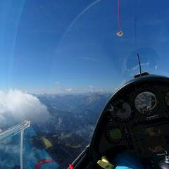 Flugwegposition um 09:58:42: Aufgenommen in der Nähe von Landl, Österreich in 2184 Meter