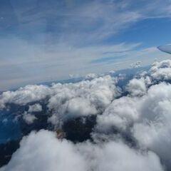 Flugwegposition um 10:08:11: Aufgenommen in der Nähe von Eisenerz, Österreich in 2708 Meter