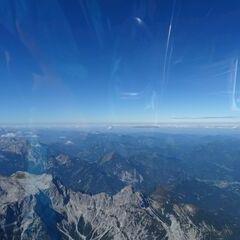 Flugwegposition um 10:59:51: Aufgenommen in der Nähe von Weng im Gesäuse, 8913, Österreich in 3236 Meter