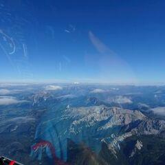 Flugwegposition um 13:39:34: Aufgenommen in der Nähe von Gemeinde Hinterstoder, Hinterstoder, Österreich in 3467 Meter
