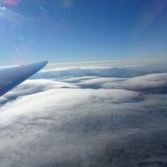 Flugwegposition um 14:53:03: Aufgenommen in der Nähe von Gemeinde St. Pankraz, Österreich in 2880 Meter