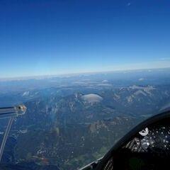 Flugwegposition um 13:39:32: Aufgenommen in der Nähe von Gemeinde Hinterstoder, Hinterstoder, Österreich in 3467 Meter