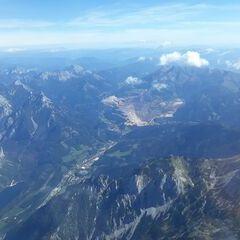 Flugwegposition um 11:40:13: Aufgenommen in der Nähe von Hieflau, 8920, Österreich in 3402 Meter