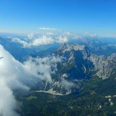 Flugwegposition um 11:23:07: Aufgenommen in der Nähe von Weng im Gesäuse, 8913, Österreich in 2606 Meter