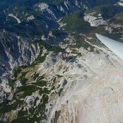 Flugwegposition um 12:18:03: Aufgenommen in der Nähe von Weng im Gesäuse, 8913, Österreich in 2244 Meter