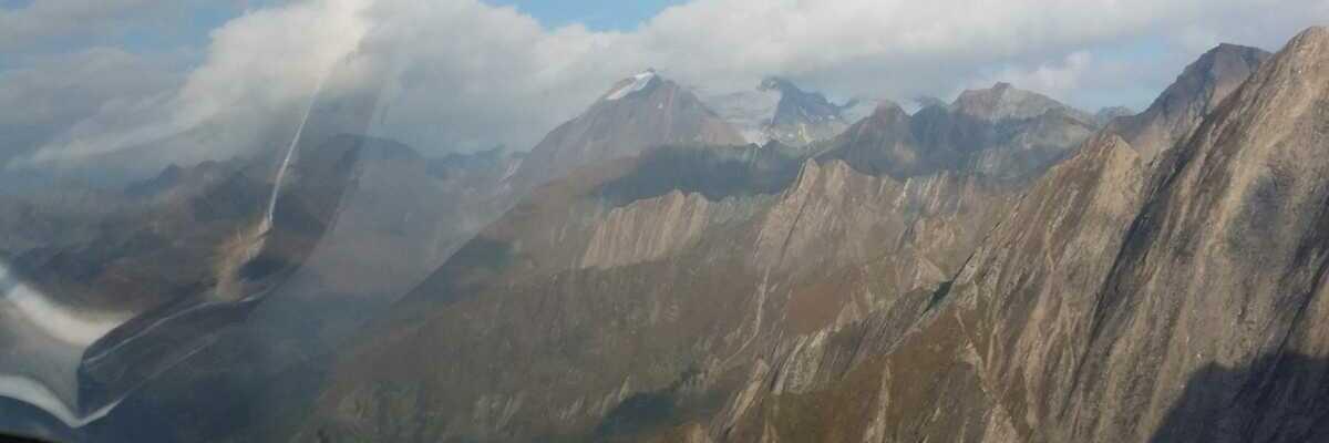 Flugwegposition um 14:21:20: Aufgenommen in der Nähe von 39049 Pfitsch, Autonome Provinz Bozen - Südtirol, Italien in 2412 Meter