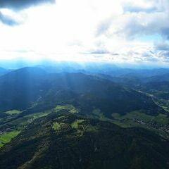 Flugwegposition um 13:09:52: Aufgenommen in der Nähe von Gemeinde Pernitz, Österreich in 1455 Meter