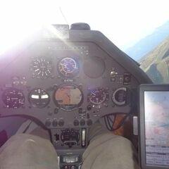 Flugwegposition um 13:23:09: Aufgenommen in der Nähe von Gemeinde Mauterndorf, 5570 Mauterndorf, Österreich in 2204 Meter