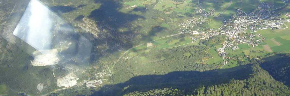 Flugwegposition um 13:22:43: Aufgenommen in der Nähe von Gemeinde Mauterndorf, 5570 Mauterndorf, Österreich in 2176 Meter