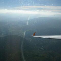 Flugwegposition um 13:47:11: Aufgenommen in der Nähe von Gemeinde Ternitz, Österreich in 1818 Meter