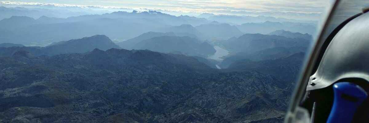 Flugwegposition um 14:06:23: Aufgenommen in der Nähe von Gemeinde Hinterstoder, Hinterstoder, Österreich in 3229 Meter