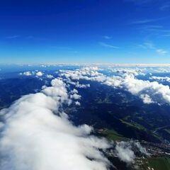 Flugwegposition um 13:06:33: Aufgenommen in der Nähe von Gemeinde Fohnsdorf, Fohnsdorf, Österreich in 4343 Meter
