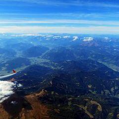 Flugwegposition um 12:59:46: Aufgenommen in der Nähe von Oberweg, Österreich in 4737 Meter