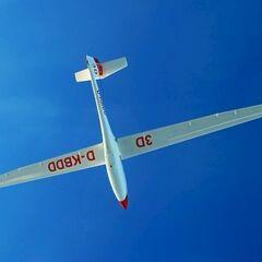 Flugwegposition um 13:35:30: Aufgenommen in der Nähe von Hirschegg, 8584, Österreich in 4847 Meter