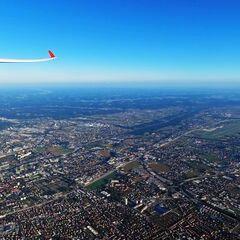 Flugwegposition um 15:07:23: Aufgenommen in der Nähe von Graz, Österreich in 1772 Meter