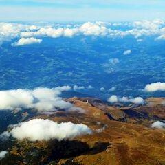 Flugwegposition um 12:07:40: Aufgenommen in der Nähe von Gemeinde Soboth, Soboth, Österreich in 3775 Meter