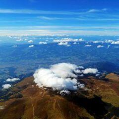 Flugwegposition um 12:10:28: Aufgenommen in der Nähe von Garanas, Österreich in 3712 Meter