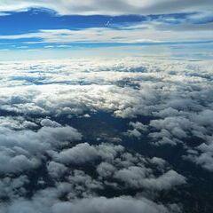 Flugwegposition um 08:46:06: Aufgenommen in der Nähe von Gemeinde Wildalpen, 8924, Österreich in 5855 Meter