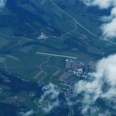 Flugwegposition um 10:02:44: Aufgenommen in der Nähe von Niederöblarn, 8960, Österreich in 5262 Meter