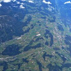 Flugwegposition um 09:30:32: Aufgenommen in der Nähe von Gemeinde Spital am Pyhrn, 4582, Österreich in 5546 Meter