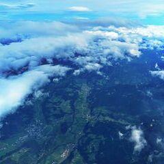 Flugwegposition um 10:31:51: Aufgenommen in der Nähe von Gössenberg, Österreich in 5901 Meter