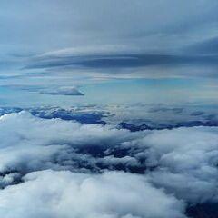 Flugwegposition um 11:41:56: Aufgenommen in der Nähe von Landl, Österreich in 5784 Meter