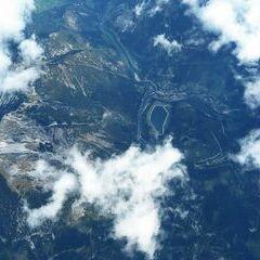 Flugwegposition um 11:41:25: Aufgenommen in der Nähe von Weng im Gesäuse, 8913, Österreich in 5779 Meter