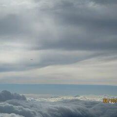 Flugwegposition um 13:14:20: Aufgenommen in der Nähe von Gaming, Österreich in 4027 Meter