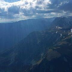 Flugwegposition um 13:18:01: Aufgenommen in der Nähe von Gußwerk, Österreich in 1911 Meter