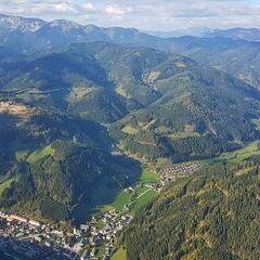 Verortung via Georeferenzierung der Kamera: Aufgenommen in der Nähe von Veitsch, St. Barbara im Mürztal, Österreich in 1600 Meter