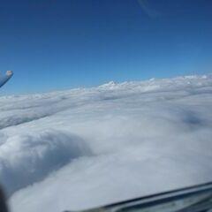 Flugwegposition um 11:43:32: Aufgenommen in der Nähe von Gemeinde Thannhausen, 8160, Österreich in 3102 Meter